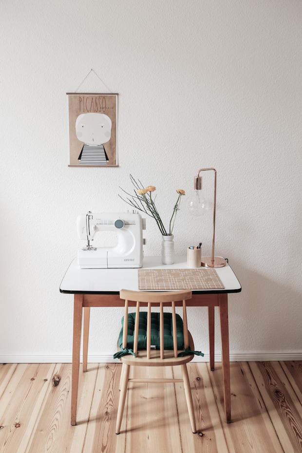 a fab mid century inspired home in berlin my scandinavian home bloglovin. Black Bedroom Furniture Sets. Home Design Ideas