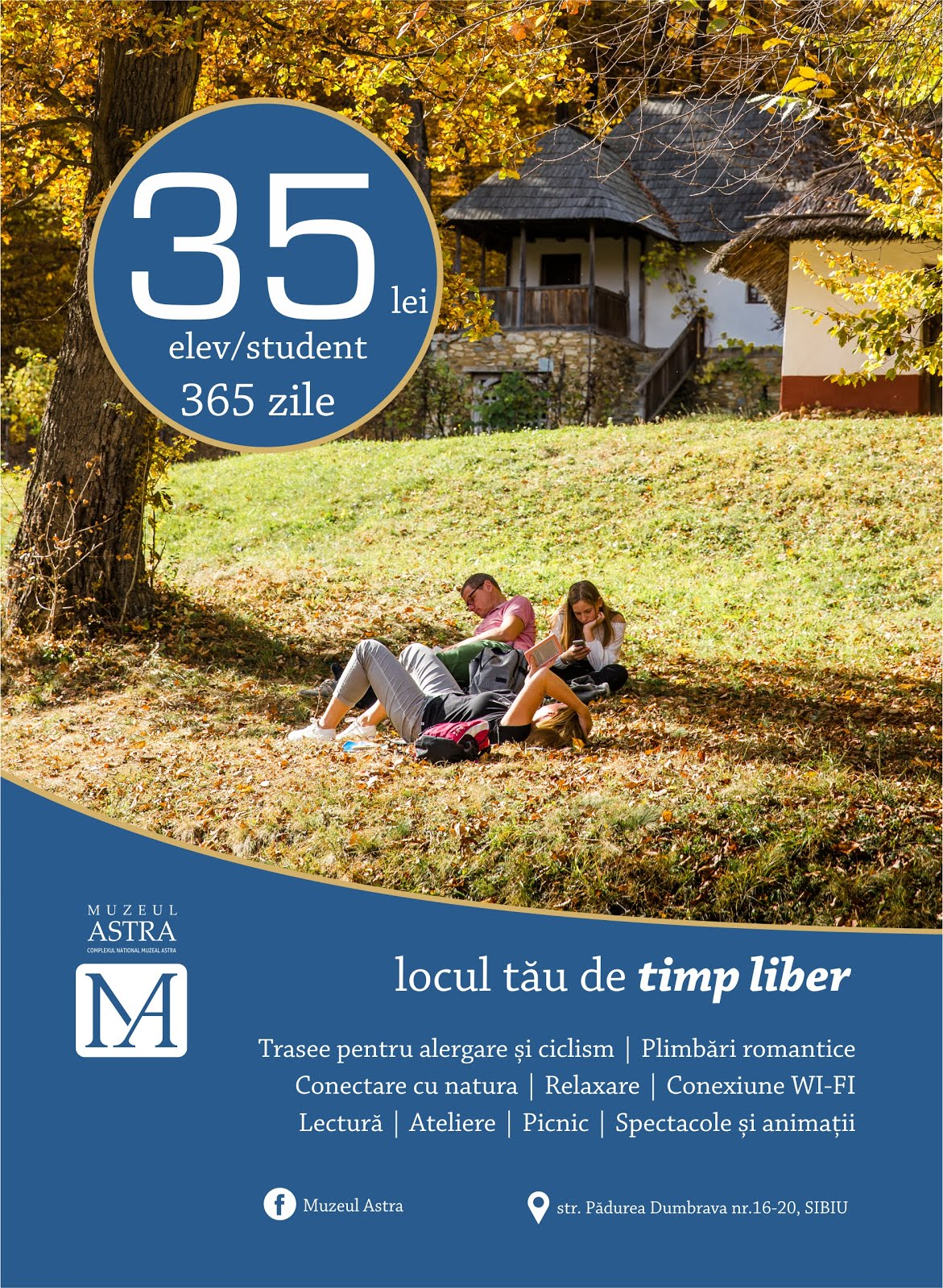 Abonament elevi/ studenți pentru locul tău de timp liber