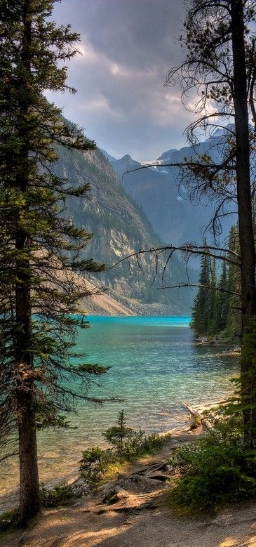 Moraine Lake in Banff National Park ~ Alberta, Canada