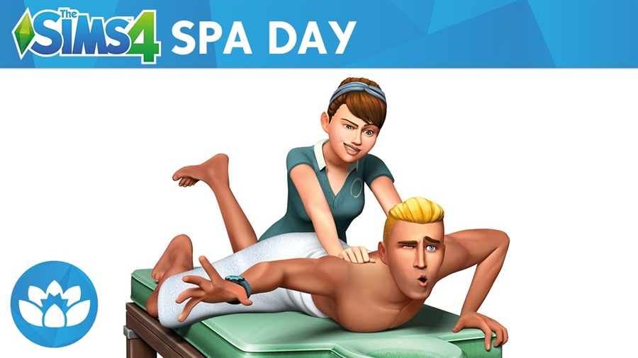 The Sims 4 Spa Day Download Poster