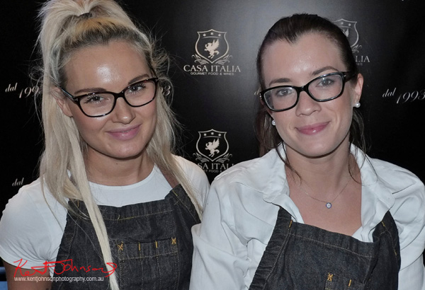 Drinks and smiles from Casa Italia, Sydney Italian Festival Launch - Street Fashion Sydney