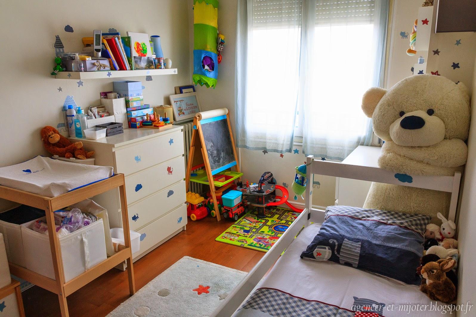 Agencer et mijoter: idée déco : réorganiser une chambre pour l ...