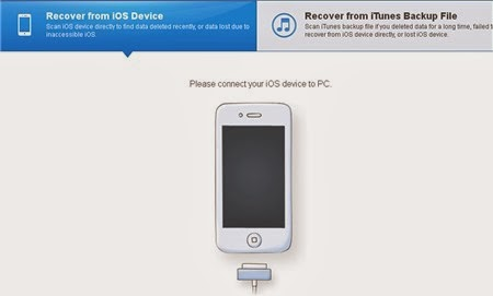Wondershare Dr.Fone for iOS: Phục hồi dữ liệu cho iPhone, iPad