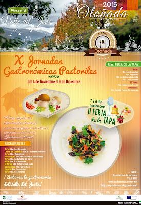 X Jornadas Gastronómicas Pastoriles en el Valle del Jerte