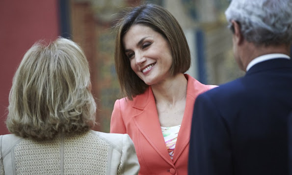 Queen Letizia attend the ceremony to mark the 200 year of the Council of the greatness of Spain