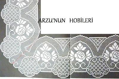 Arzunun Hobileri: Netten güllü ,köşeli kenar danteli şemaları...