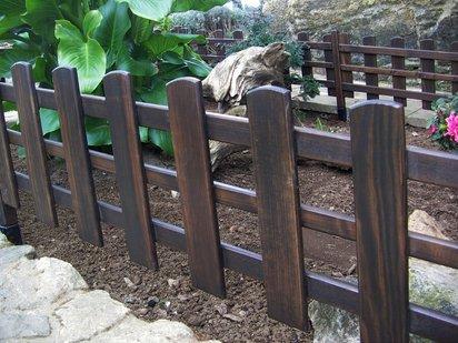 Crea y decora en madera decorativas vallas para adornar for Vallas decorativas para jardin