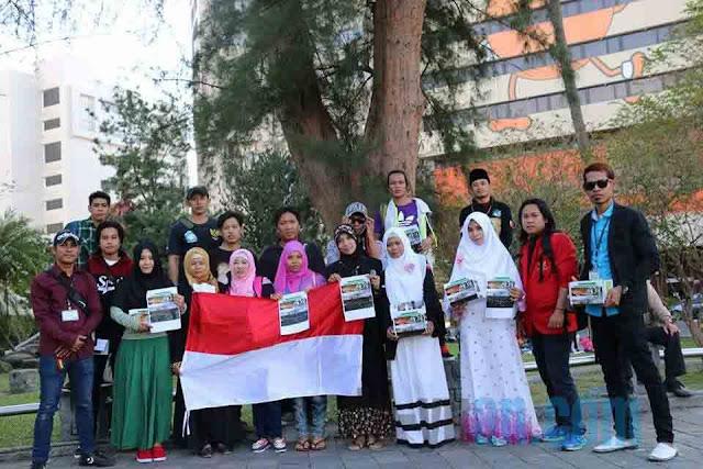 Aksi BMI Taiwan Peduli Korban Kebakaran di Bajo Pulo NTB