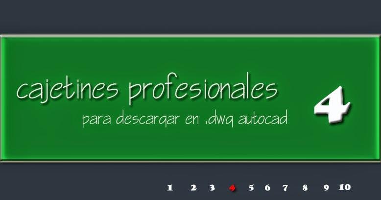 Descargar cajet n profesional para proyectos de for Programa interiorismo