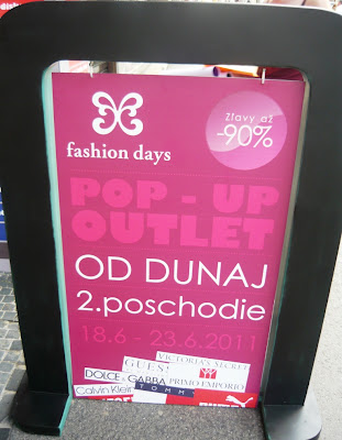 POP-UP Outlet - Fashion Days