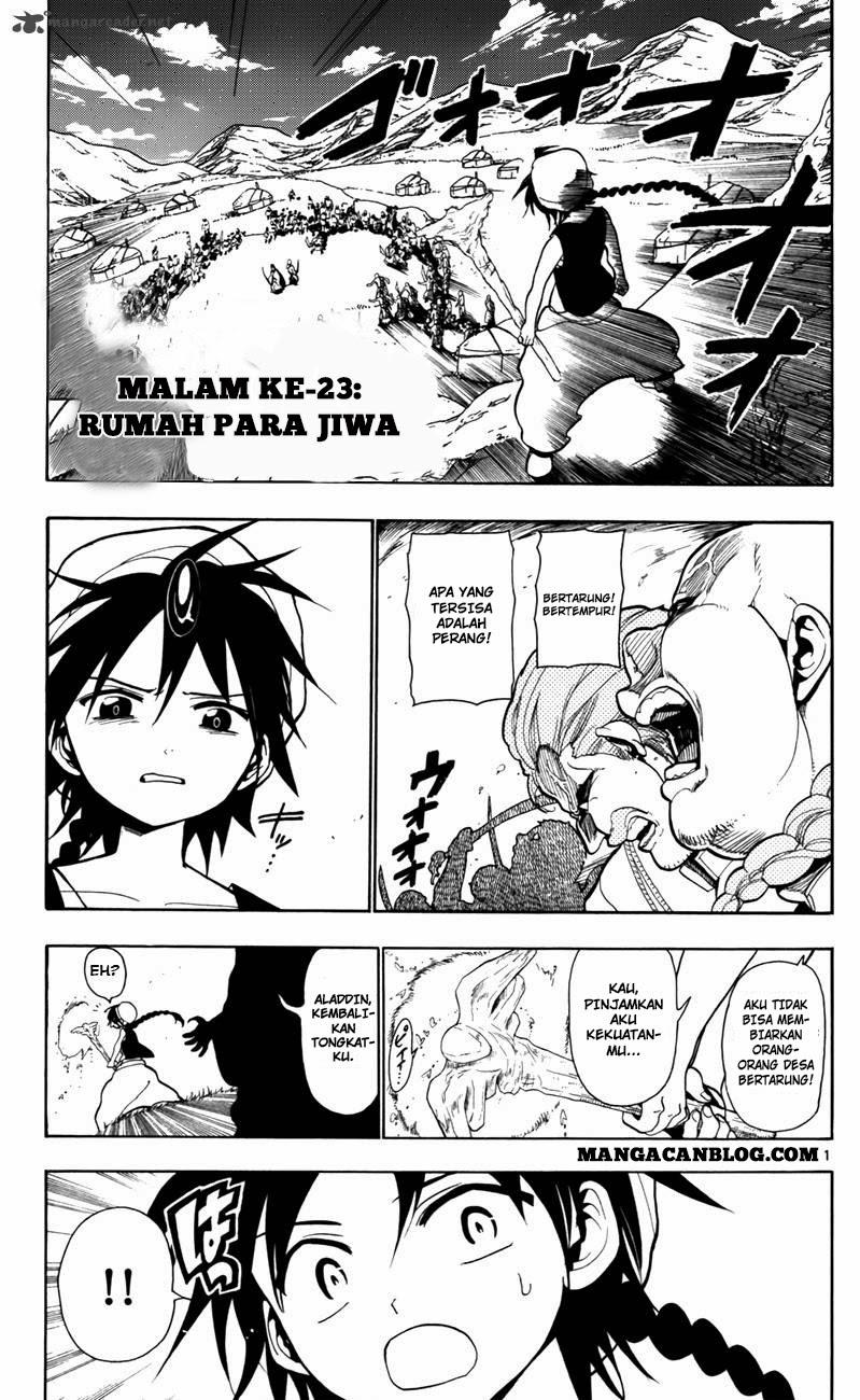 Dilarang COPAS - situs resmi www.mangacanblog.com - Komik magi 023 - rumah para jiwa 24 Indonesia magi 023 - rumah para jiwa Terbaru |Baca Manga Komik Indonesia|Mangacan