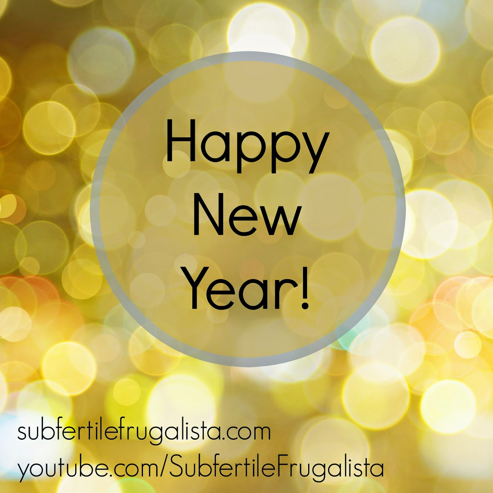 The Subfertile Frugalista: Happy New Year! | Goals for the Blog + ...