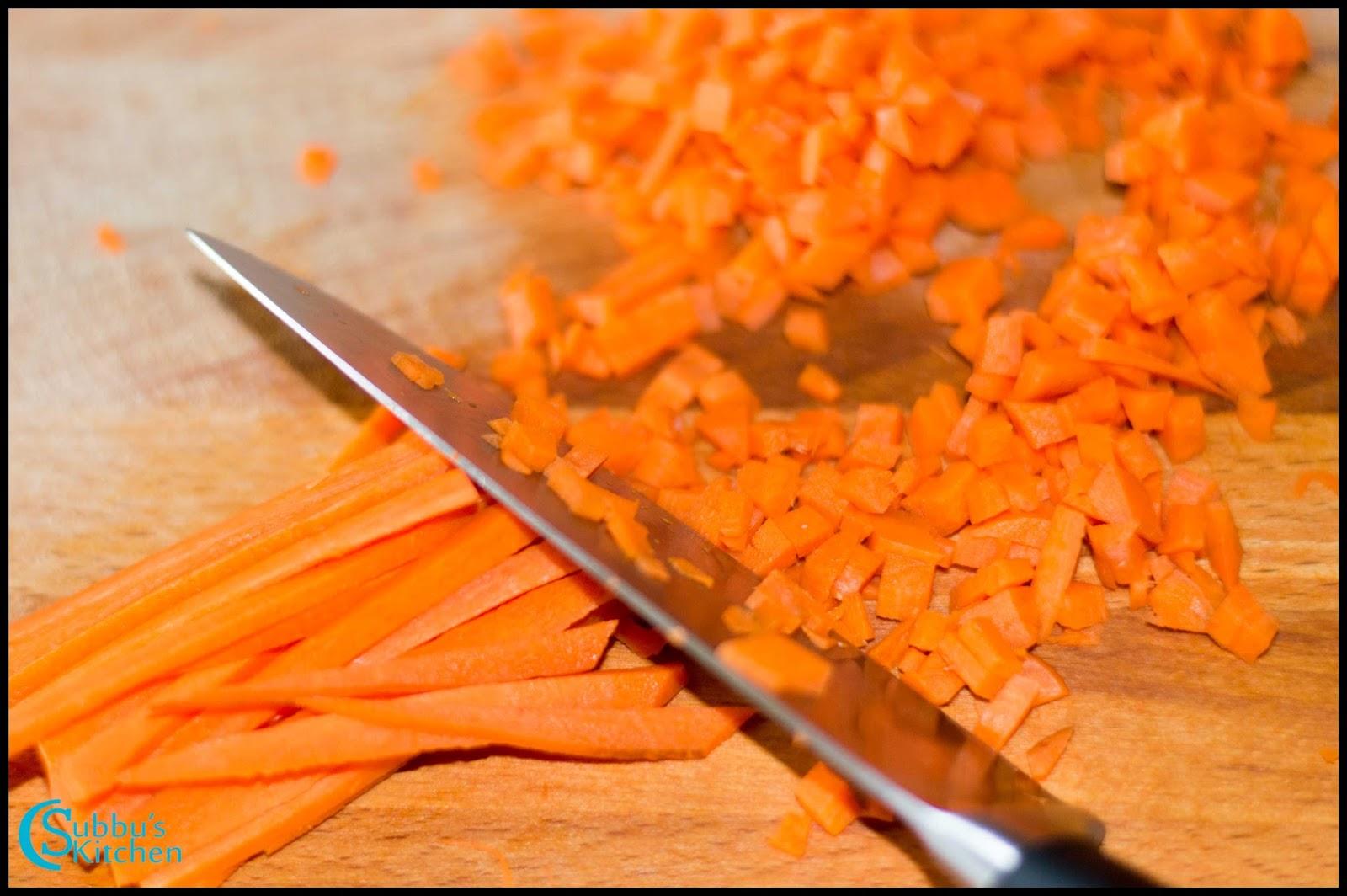 chopped carrots - photo #48