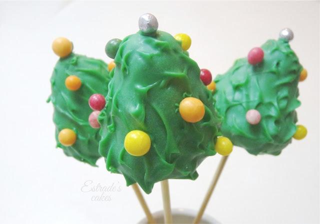cake pop árbol de Navidad - 01