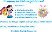 Promoção no blog Belart's