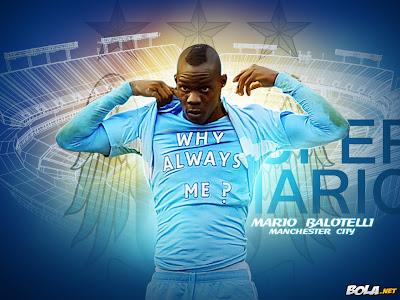 Mario Balotelli Manchester City F.C Wallpapers