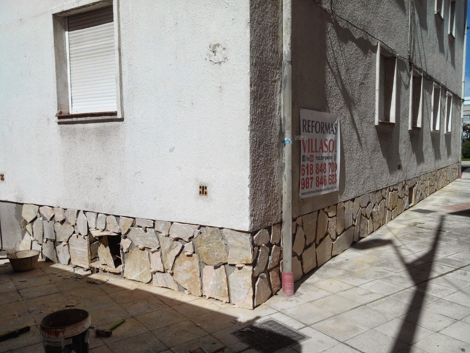 Presupuestos reformas y colocación de piedra natural en fachadas,en León. Presupuestos sin compromiso en tlf : 618848709 wasap-y 987846623.