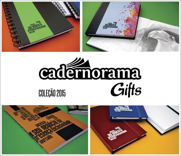 Cadernorama Gifts Coleção 2015