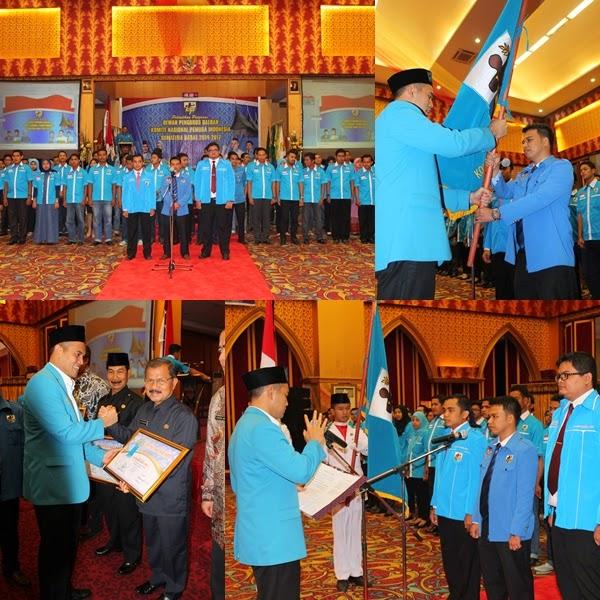 Lipsus DPD KNPI Sumbar: Defika Yufiandra Dkk Resmi Dilantik, Wagub MK 'Ngamuk' Mau 'Bubarkan' Dispora Sumbar
