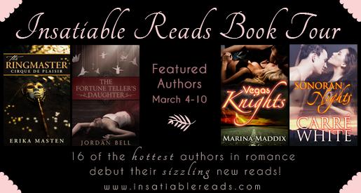Insatiable Reads Book Tour