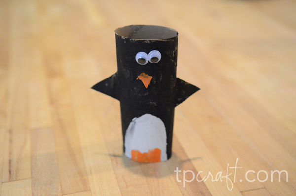 Tpcraft Toilet Paper Roll Penguin