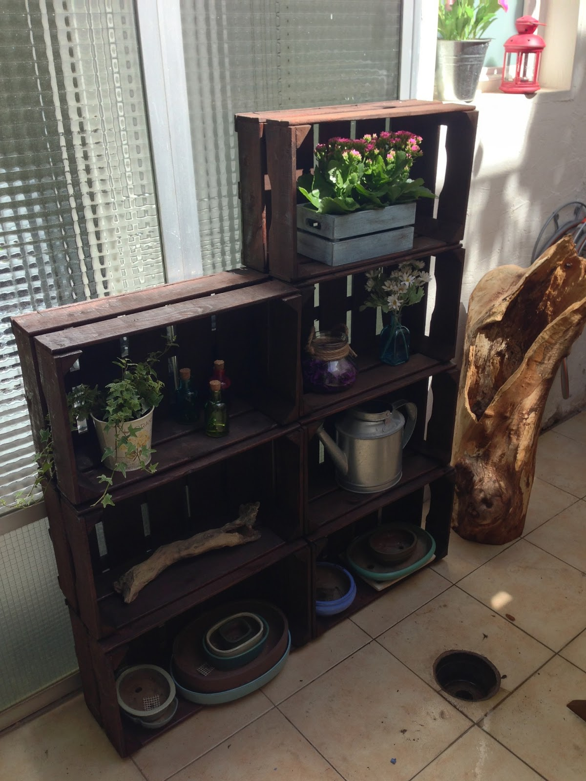 Decorando y renovando diy cajas de fruta para todos - Madera para decoracion ...