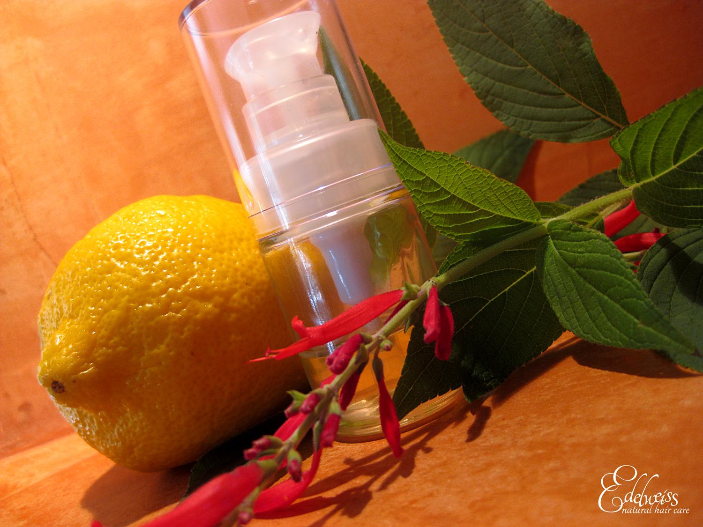 huile de ricin et citron pour beaux ongles