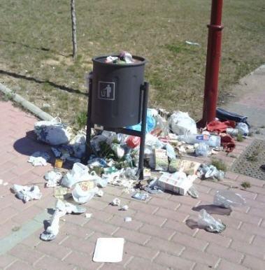 Periodico asuncionista la basura que tiran en el colegio for Imagenes de fuera de lugar