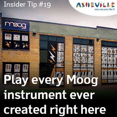 Asheville Insider Tip: Tour the Moog Music Factory for Free.