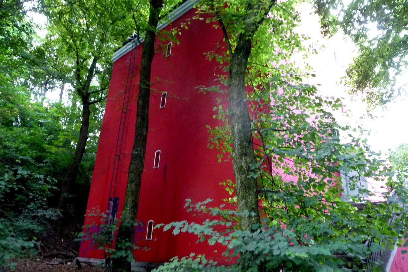 Rote Häuser Bilder essen in der au