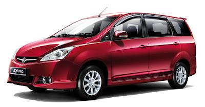 Harga Dan Spesifikasi Mobil Proton Exora