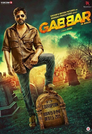 Watch Gabbar is Back (2015) DVDRip Hindi Full Movie Watch Online Free Download