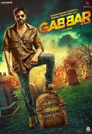 Watch Gabbar is Back (2015) DVDRip Hindi Full Movie Watch Online Free Download