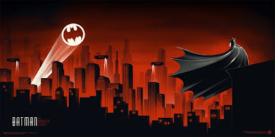 Batman The Animated Series Screen Print by Phantom City Creative & Mondo