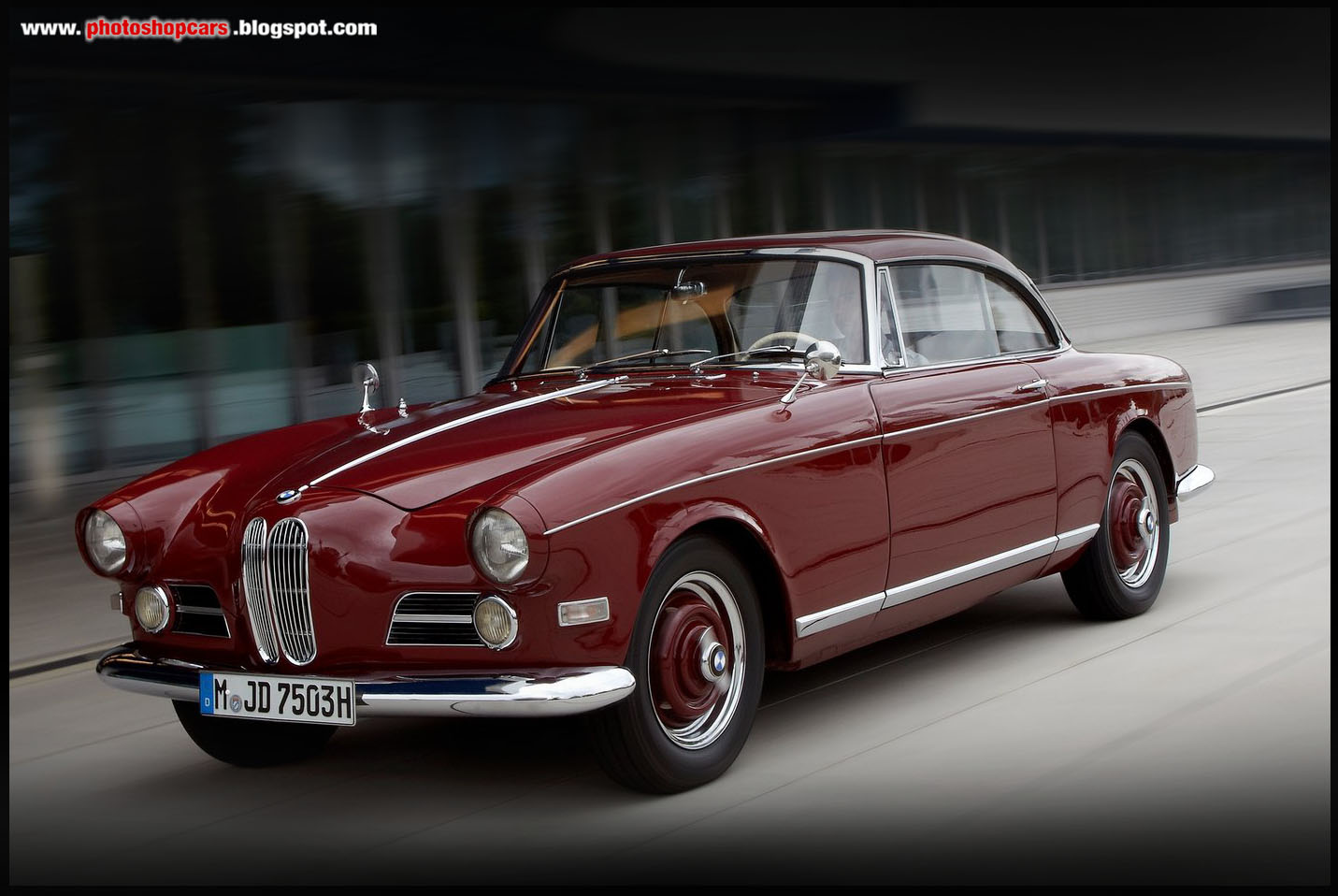 BMW 503 Coupe 1956