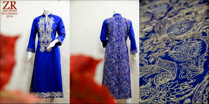 Zayn Rashid Eid Dress Collection 2014- 2015