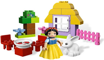 Biancaneve di Lego