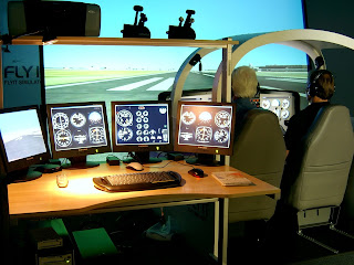 Airplane Simulator Pictures - Airplane Simulator Device
