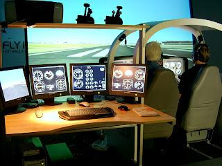 Airplane Simulator Pictures - Airplane Simulator Device