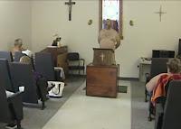 Igreja para nudistas