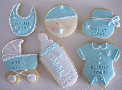 galletas nacimiento bebe