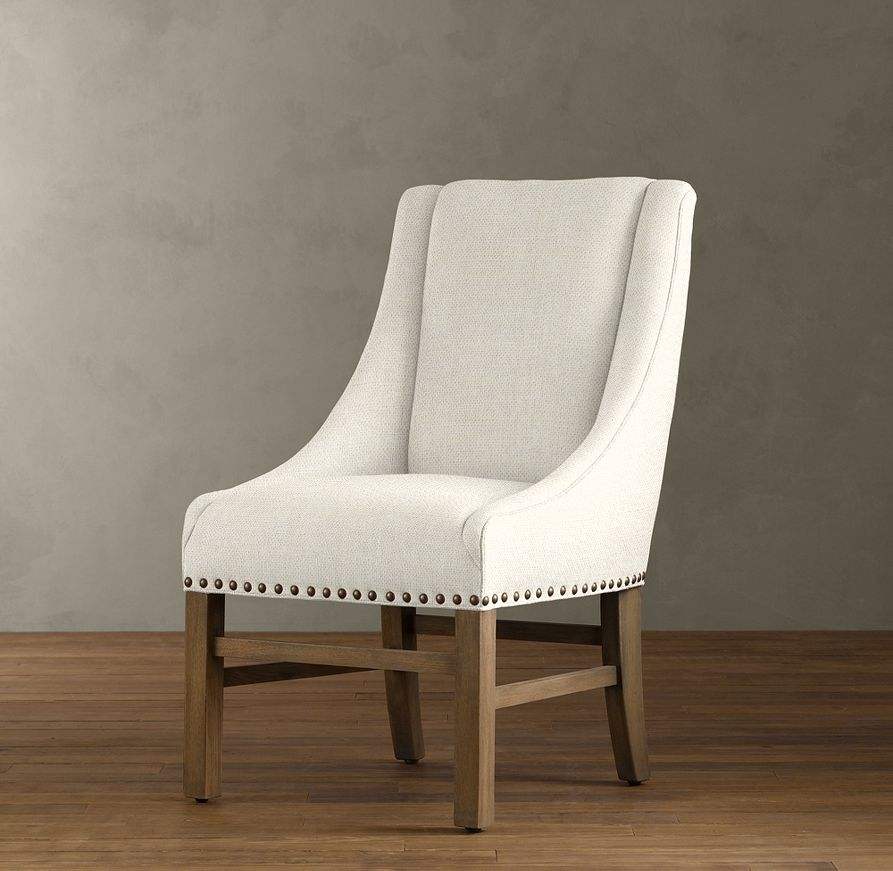 Restoration Hardware Nailhead Upholstered Chair