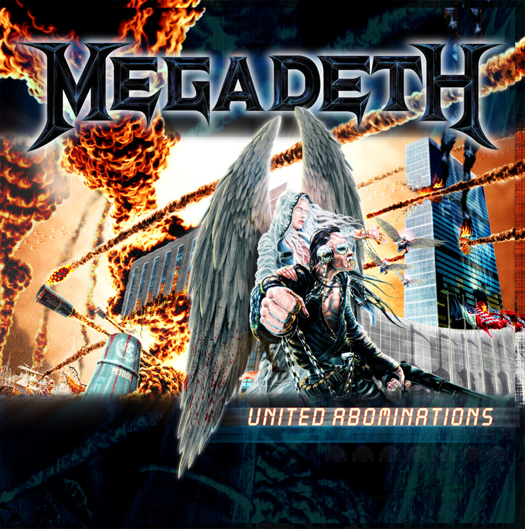 megadeth united abominations cover