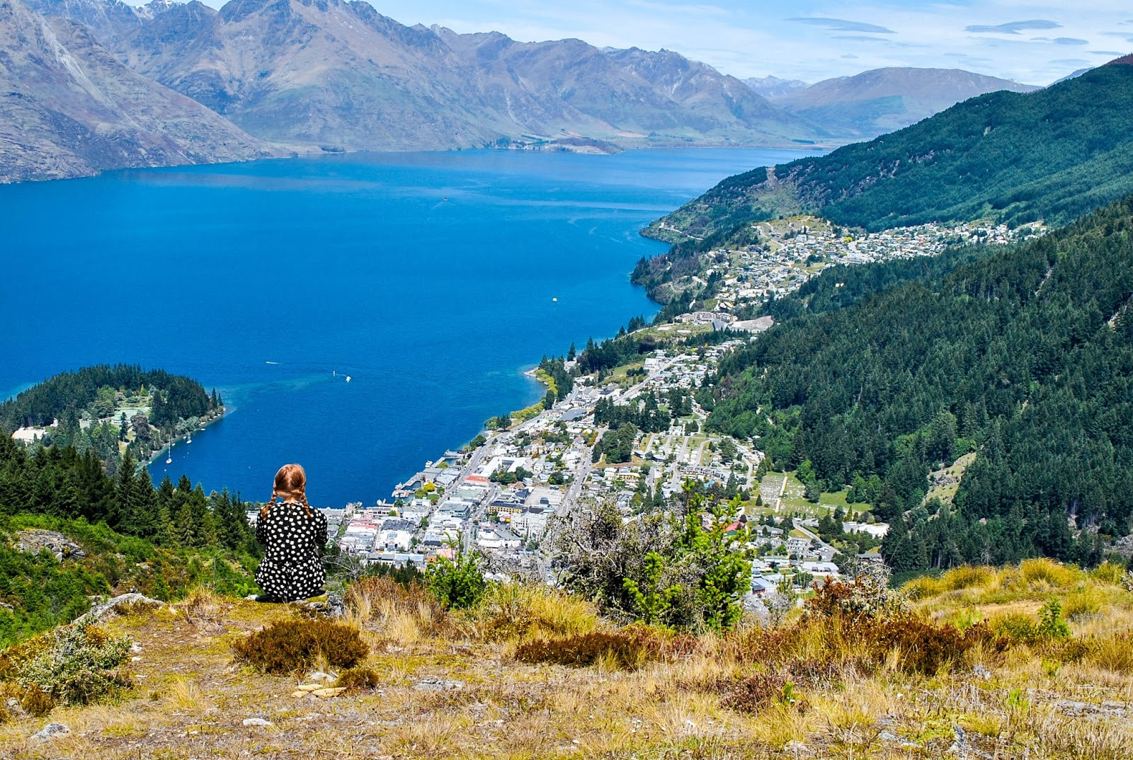 Things to do in Queenstown New Zealand : Queenstown Hill Hike