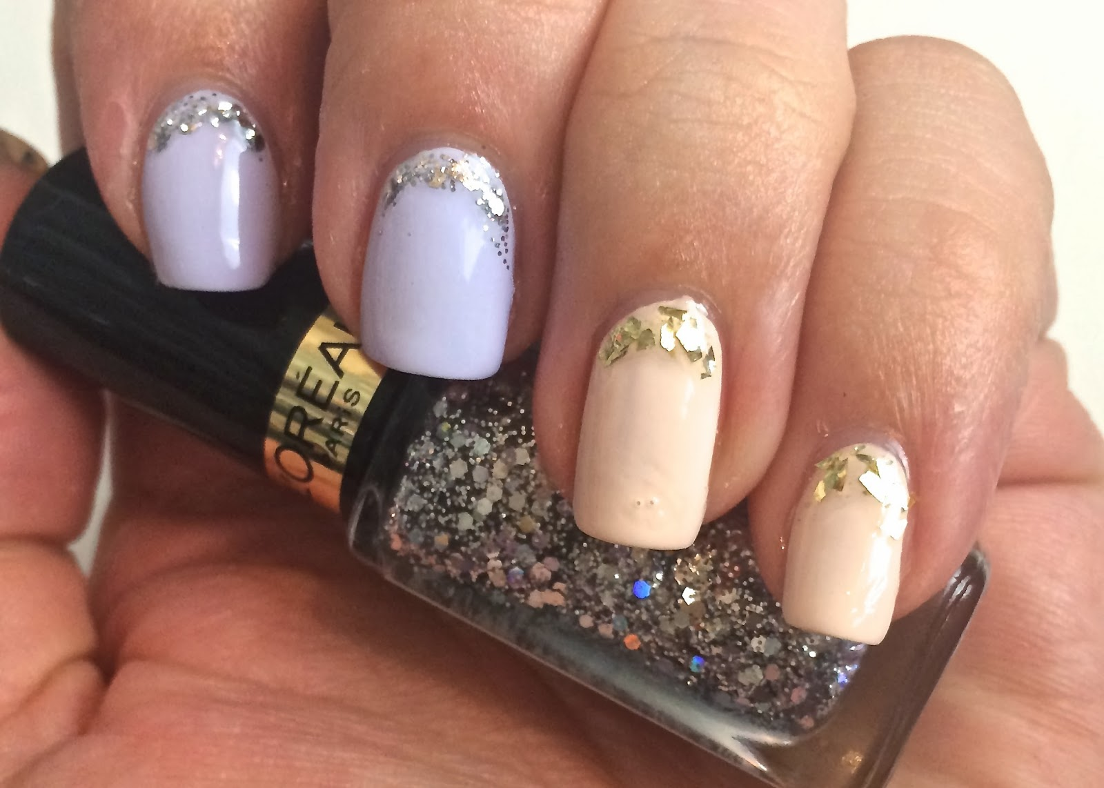 Nails: swatches of the L\'Oreal les blancs and top coat collections ...