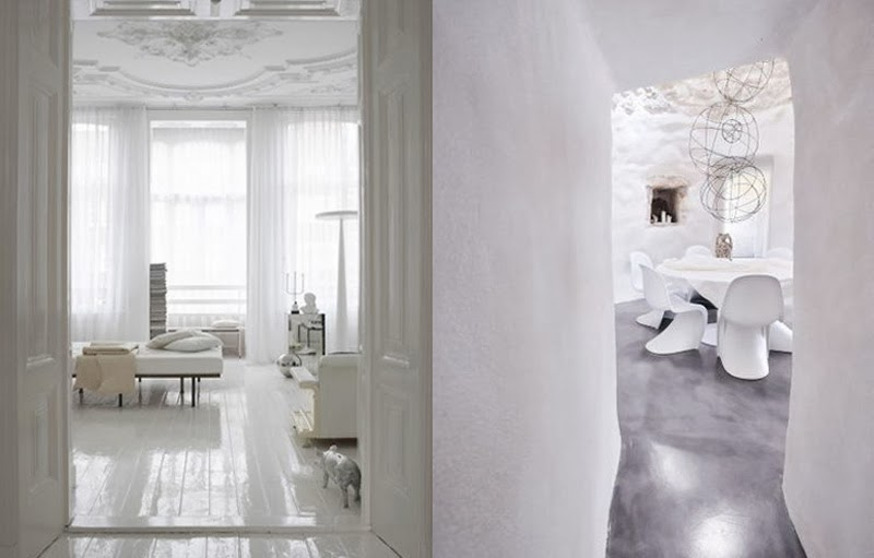 Cómo usar el blanco en tu hogar de una manera acogedora