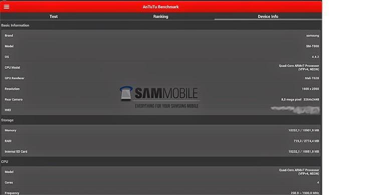 Galaxy Tab S, Tablet Pertama dengan Sensor Sidik Jari?