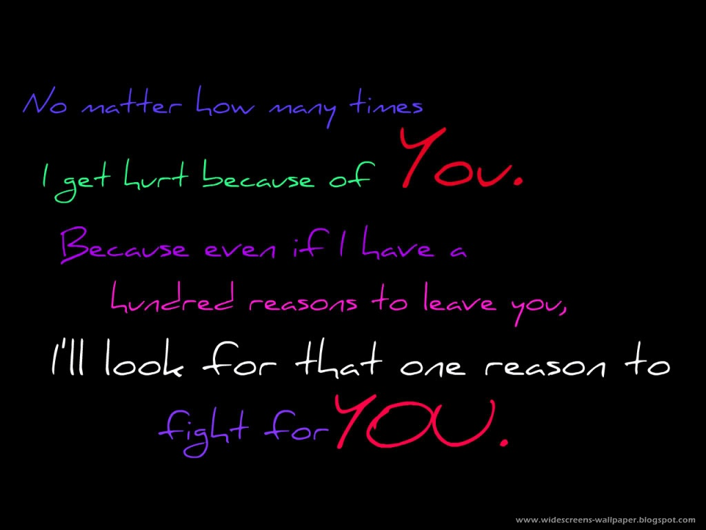 Love Quotes Wallpaper For Desktop : Wallpaper collection For Your computer and Mobile Phones ...