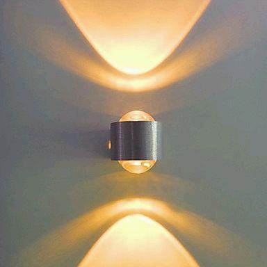 Lamparas de pared con luces led parte 1 - Lamparas para pared ...