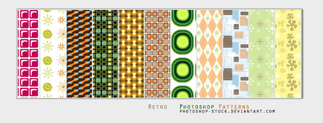 27 Retro Photoshop Patterns